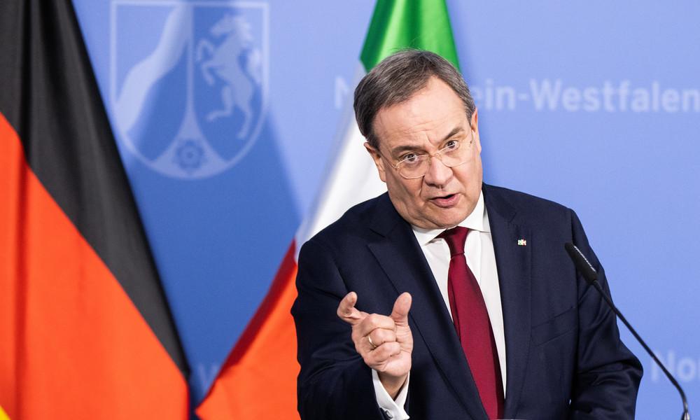 """Armin Laschet fordert """"langfristige Perspektiven für ein Leben mit der Pandemie"""""""