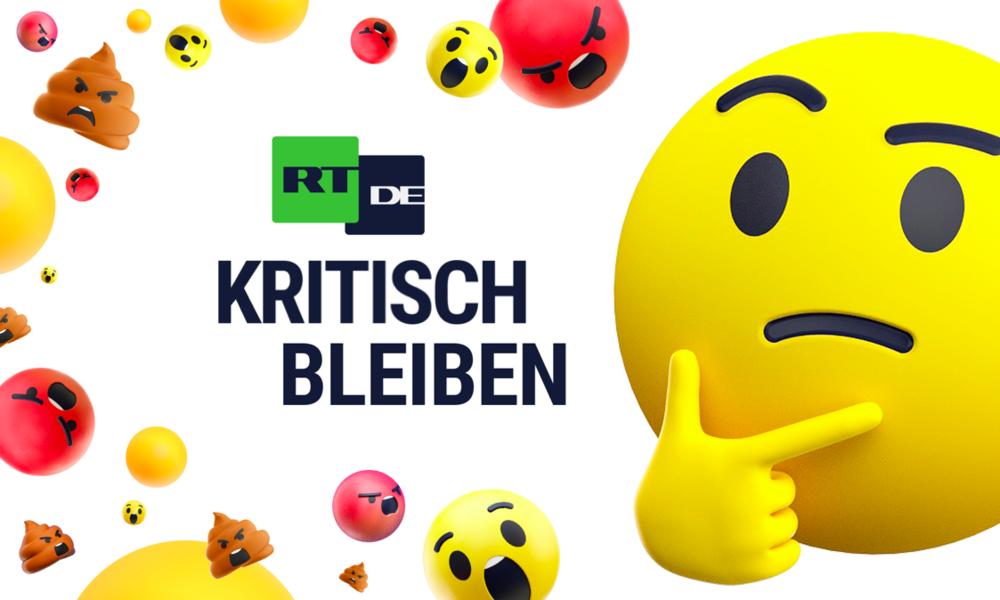 Aus RT Deutsch wird RT DE: Kritisch bleiben im neuen Auftritt