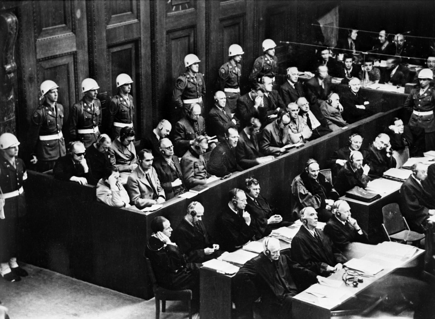 """Gericht der Völker"": Vor 75 Jahren begann das Nürnberger Tribunal"