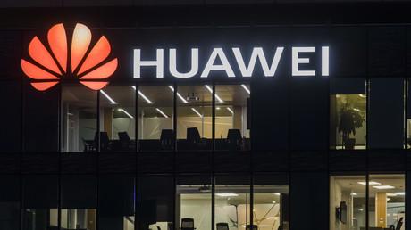 Symbolbild: Huawei-Hauptquartier in Boulogne-Billancourt, Frankreich, 15. Oktober 2020.