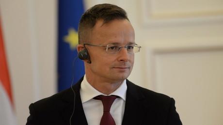 Der ungarische Außenminister Peter Szijjártó