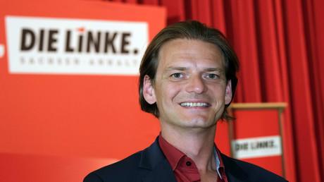 Stefan Gebhardt, Landesvorsitzender und medienpolitischer Sprecher der Linken in Sachsen-Anhalt. (Archivbild)