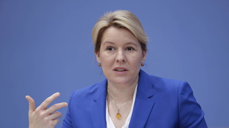 Bundesfamilienministerin Franziska Giffey (SPD) (Berlin, 11. November 2020)