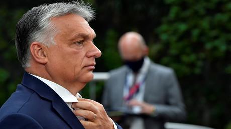 Der ungarische Premierminister Viktor Orbán beim Gipfel der EU-Staats- und Regierungschefs in Brüssel.