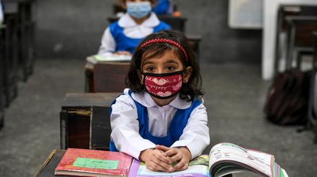Eine Grundschule in Islamabad, Pakistan, am 30. September 2020.