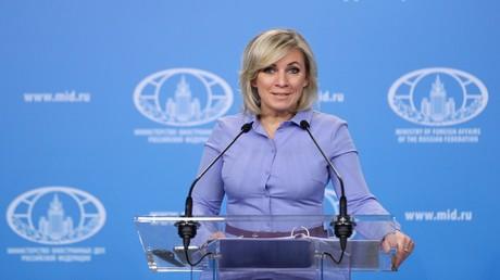 """Marija Sacharowa antwortet AKK: """"Hat die Bundesverteidigungsministerin die Schlüssel zum Pentagon?"""""""