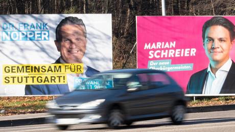 Aus grün wird schwarz: CDU-Politiker Nopper gewinnt Oberbürgermeisterwahl vonStuttgart
