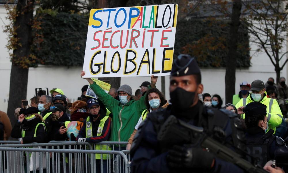 Französische Regierung lässt umstrittenes Sicherheitsgesetz zugunsten einer Neufassung fallen