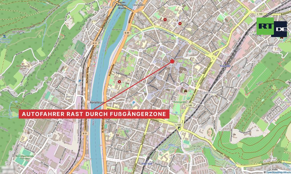 Amokfahrt in Trier: Fünf Tote, darunter ein Baby – 15 Verletzte – Täter war betrunken (Video)