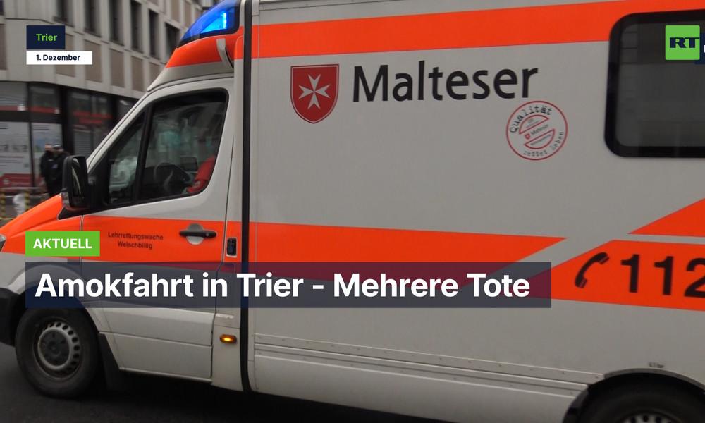 Amokfahrt in Trier - Mehrere Tote