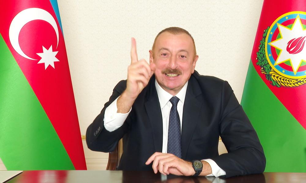 Aserbaidschans Präsident zu Bergkarabach-Resolution in Frankreich: Tretet Marseille an Armenier ab!