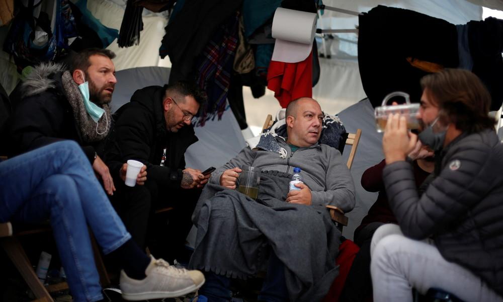 Portugal: Restaurantbesitzer im Hungerstreik vor Parlamentsgebäude