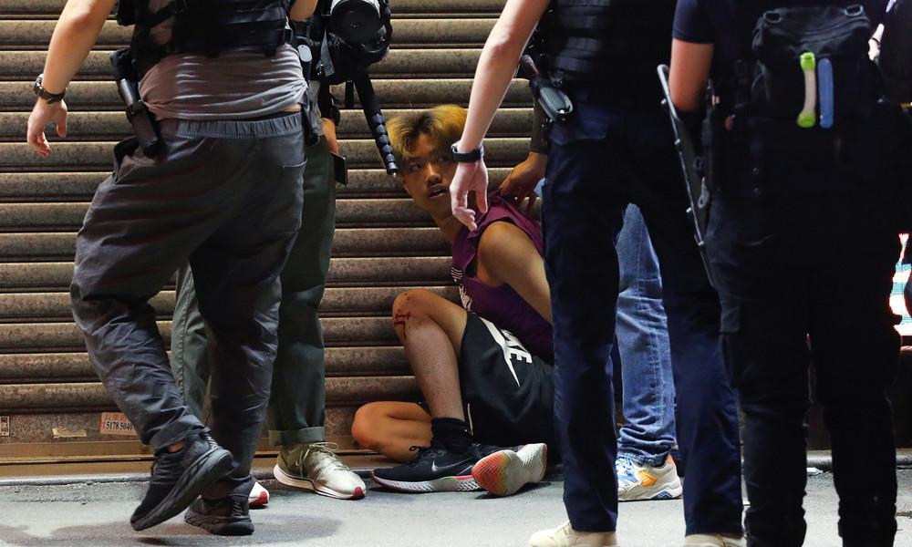 Polizei klassifiziert Laserpointer als Waffen: Studentenführer in Hongkong verhaftet