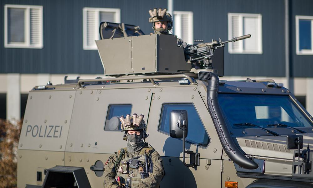 Bayerns Polizei bekommt gepanzerte Fahrzeuge mit Waffenstationen