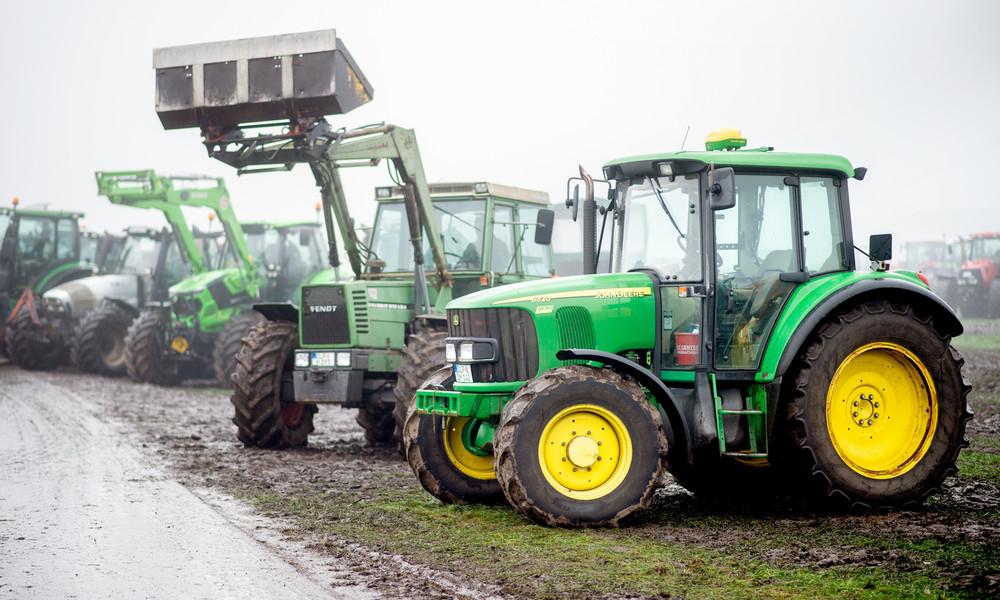 """Nach Bauernprotesten im ganzen Land: Discounter zeigen sich """"gesprächsbereit"""""""