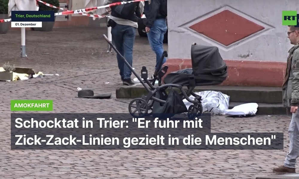 """Schocktat in Trier: """"Er fuhr mit Zick-Zack-Linien gezielt in die Menschen"""""""