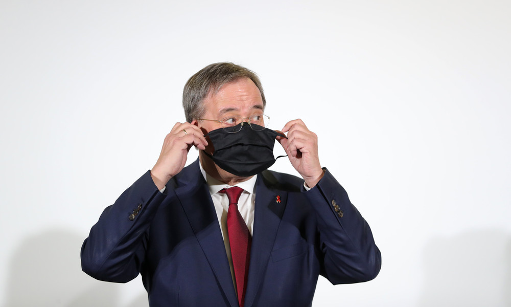 Aufregung um Masken-Millionenauftrag: Armin Laschet wirft SPD Diffamierung vor
