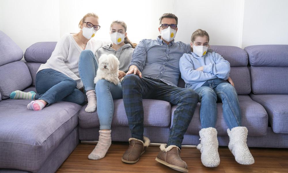 Weltgesundheitsorganisation empfiehlt: Masken auch im eigenen Haushalt tragen