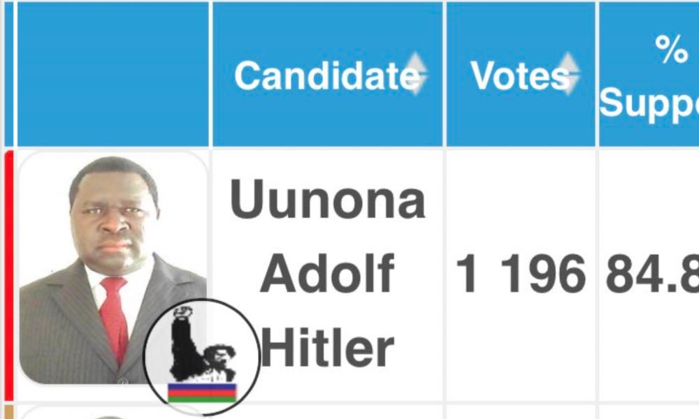Mit 84,8 Prozent: Adolf Hitler in Namibia zum Landrat gewählt