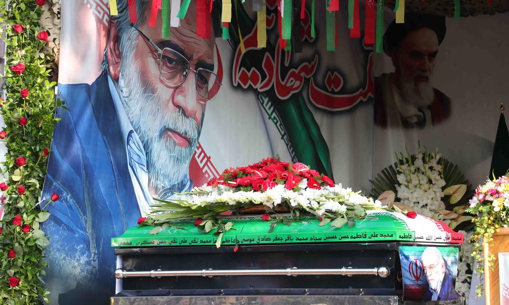 Medien: US-Regierungsvertreter machen Israel für Mord an iranischem Nuklearphysiker verantwortlich