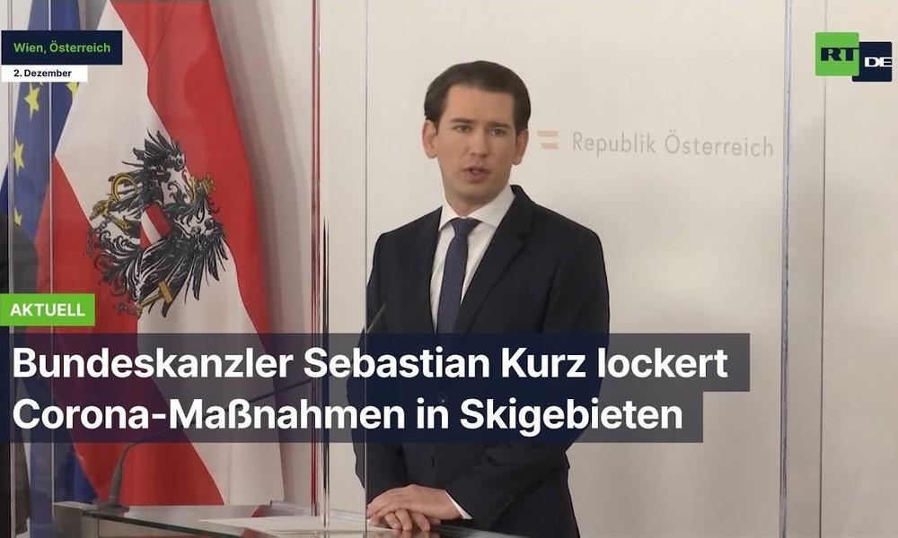 Österreich: Bundeskanzler Sebastian Kurz lockert Corona-Maßnahmen in Skigebieten