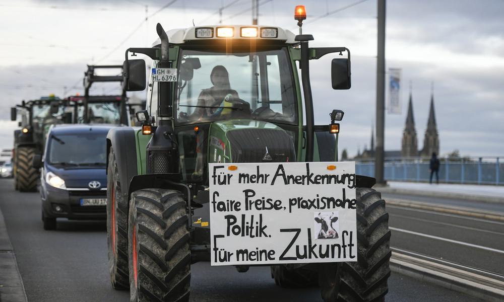 Bauernproteste: Ultimatum der Landwirte für faire Preise endet in wenigen Stunden