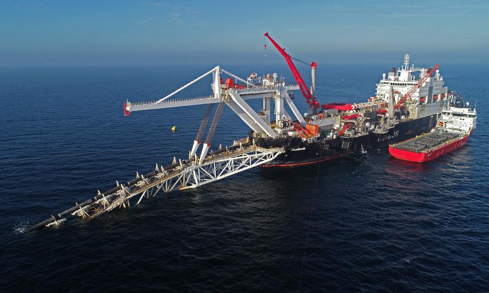 Nord Stream 2: USA verschärfen Sanktionen – Europäische Verbündete aber nicht betroffen
