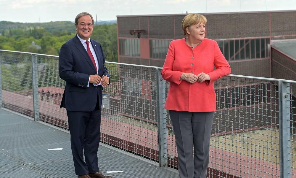 """Armin Laschet bleibt auf Merkel-Kurs: """"Kurs der Mitte war und bleibt richtig"""""""