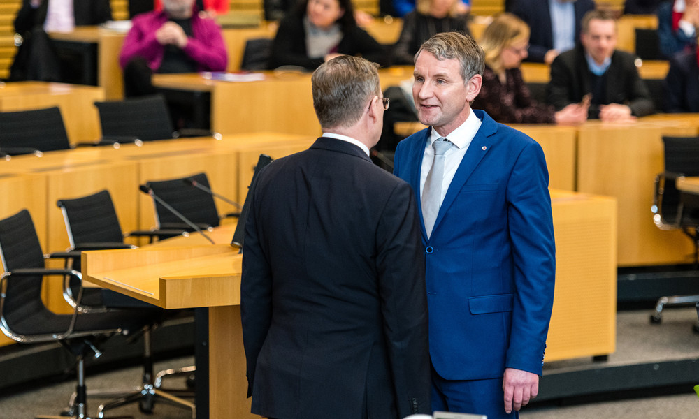Thüringer Landtag: Abgeordneten-Immunität von Ramelow und Höcke aufgehoben