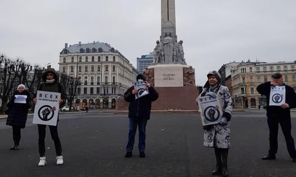 Festnahmen, Razzien, mehrstündige Verhöre – Abstrafung russischsprachiger Journalisten in Lettland