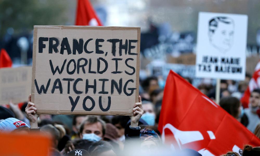 UN: Frankreichs Sicherheitsgesetz mit Menschenrechten unvereinbar