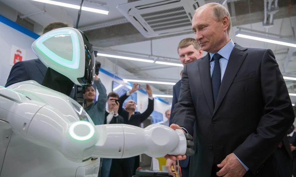 Machthungrige Maschinen? – KI-Roboter macht Putin das Amt als russischer Präsident streitig