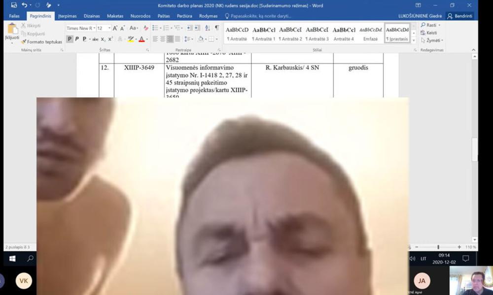 Litauen: Homophober Politiker mit nacktem Mann im Homeoffice erwischt