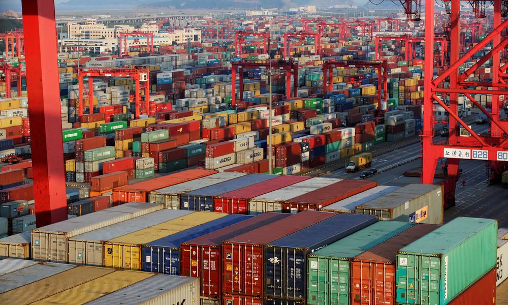 Trotz globaler Rezession: Chinas Exporte im Corona-Jahr auf Rekordhoch