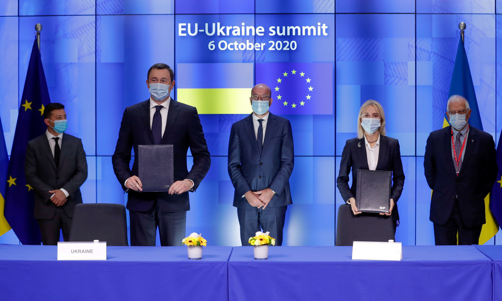16,5 Milliarden Euro an Zuschüssen und Darlehen: EU und Ukraine sieben Jahre nach dem Euromaidan