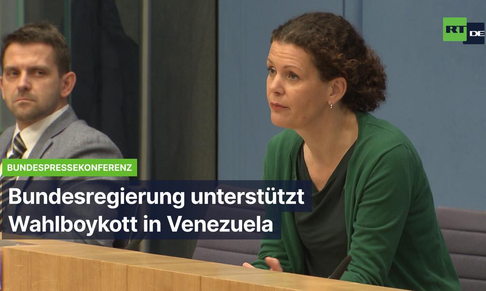 Bundesregierung hofiert Wahlboykott und ignoriert venezolanische Verfassung