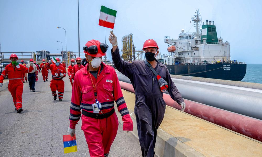 Trotz Sanktionen: Iran entsendet Tankerflotte mit Treibstoff nach Venezuela
