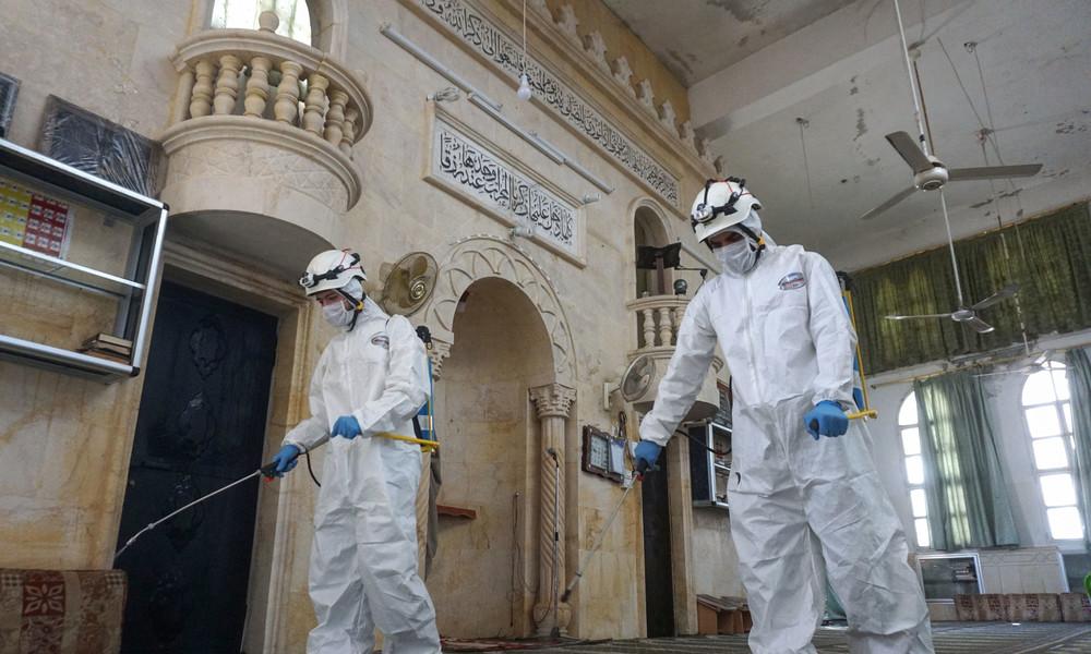 Trotz Terrorismusverdacht: Weißhelm-Chef mit Regierungsmaschine in Deutschland eingetroffen