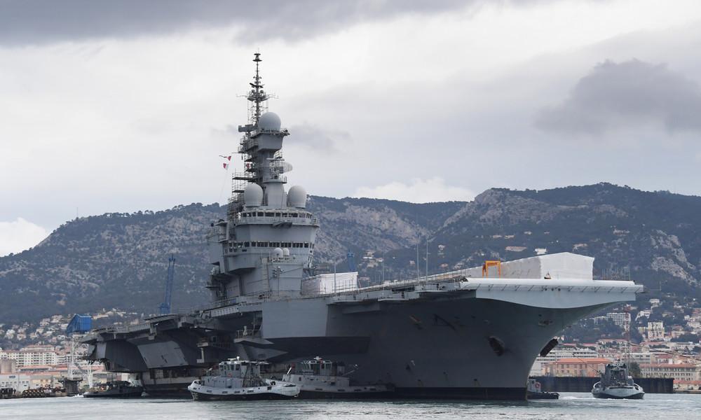 Frankreichs neuer atomarer Flugzeugträger als ein Symbol der Strategie zur Energieversorgung