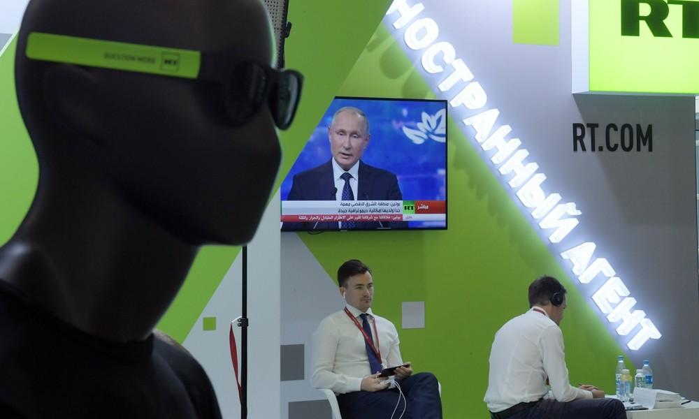 """Wladimir Putin gratuliert RT zum 15. Geburtstag: """"Eine Stimme der Wahrheit"""""""