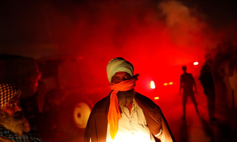 Neuer Generalstreik der Landwirte in Indien