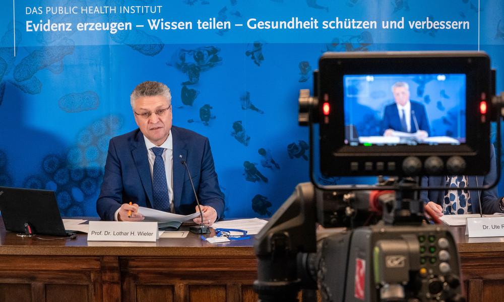Das Robert Koch-Institut informiert über die aktuelle Corona-Lage in Deutschland