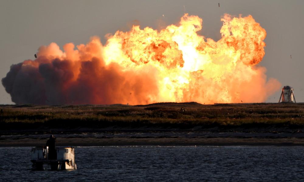 SpaceX-Rakete explodiert bei Test – Elon Musk trotzdem zufrieden