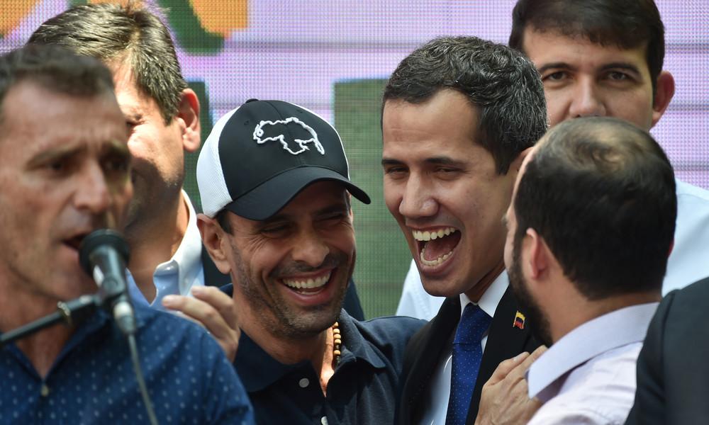 Venezolanischer Oppositioneller bittet USA, Unterstützung für Guaidó einzustellen