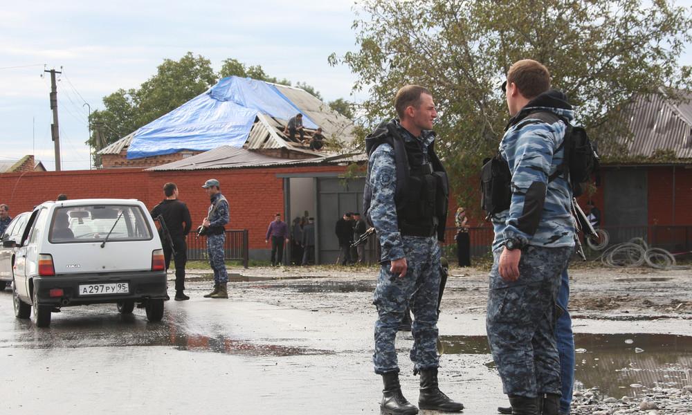 Terroranschlag im Nordkaukasus: Selbstmordattentäter sprengt sich nahe FSB-Gebäude in die Luft