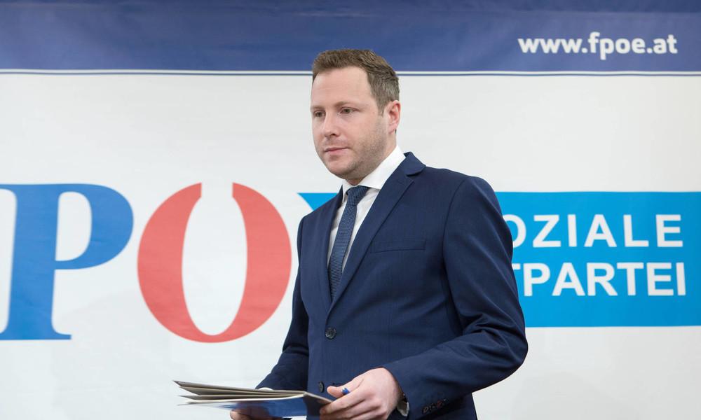 FPÖ-Politiker macht Schnelltest im Parlament: Cola angeblich positiv auf Corona getestet