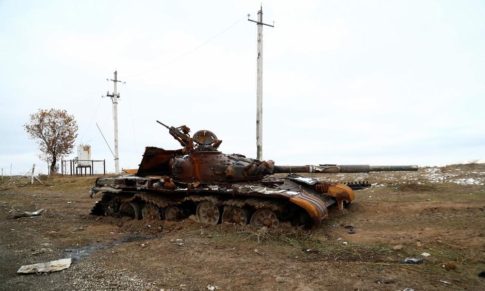 Moskau: Waffenstillstand in Bergkarabach wurde erstmals verletzt