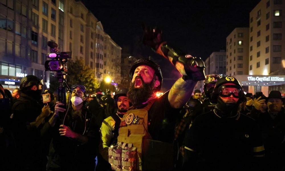 USA: Gewaltsame Zusammenstöße zwischen Antifa und Proud Boys in Washington
