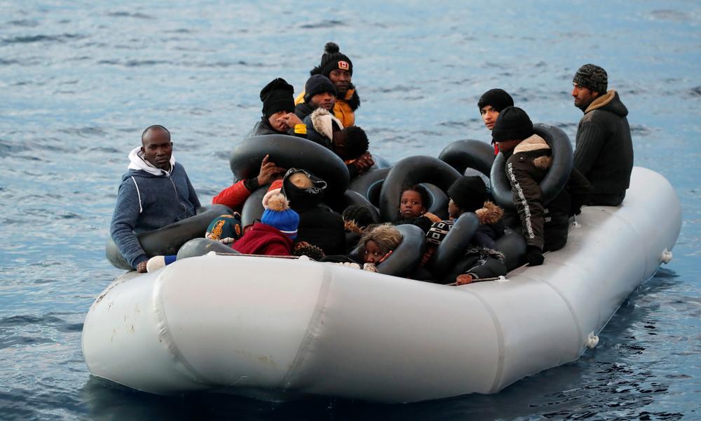 Türkei wirft Griechenland Zurückdrängen illegaler Migranten in türkische Gewässer vor