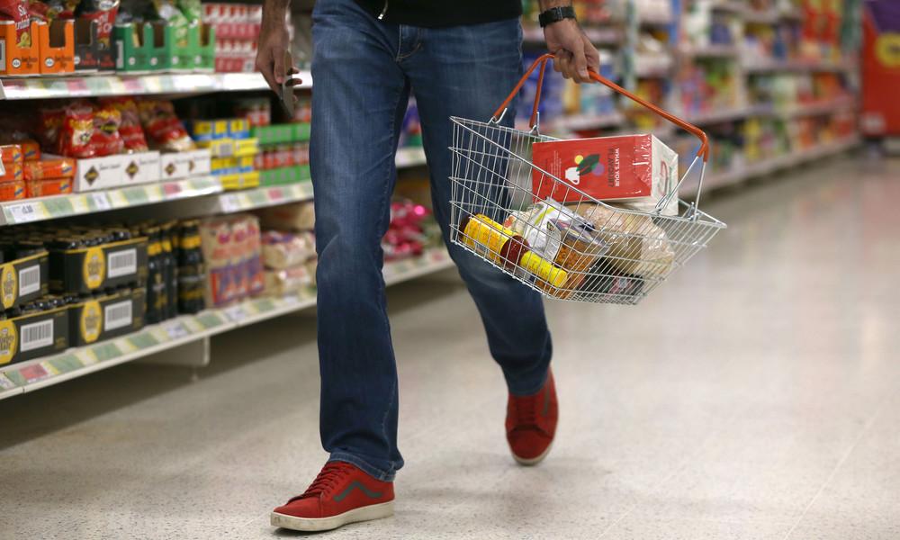 London weist britische Supermärkte aus Sorge vor No-Deal-Brexit zum Horten von Lebensmitteln an